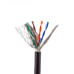 24 AWG CAT5E Cavo ethernet a 8 conduttori twistato a 4 coppie