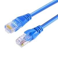 China Cat 5 Cat 5e Cat 6 unshield 4 pair twisted 8 core rj45 plug network cable pass fluke test factory