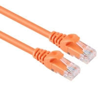 China Cat5 Cat6 1 M 2 M 3 M 5 M 10 M  15 M RJ45 plug straight through T568B ethernet lan cable factory