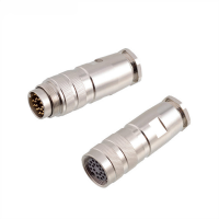 China M16 2 3 4 5 6 7 8 12 14 16 19 24 pin male female connector factory
