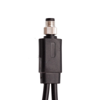 China M8 Y Splitter Male to two Female Straight Mounting Type Ip67 Waterproof Connector factory