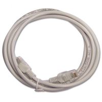 China RJ45 plug grey color 26 AWG stranded BC Cat 5 patch cord shenzhen Manufacturer factory